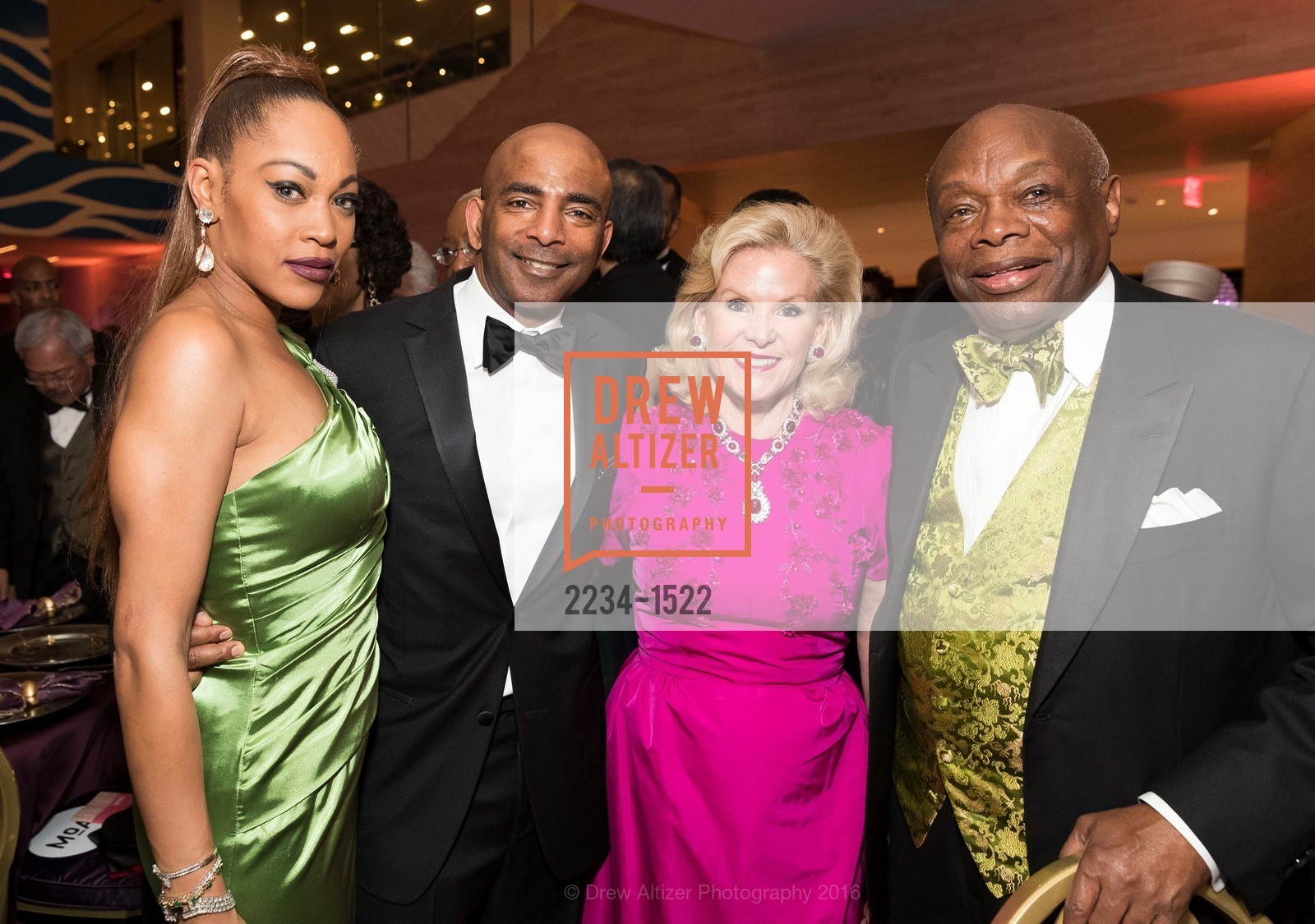 Amanda Wright, Steve Bowdry, Dede Wilsey, Willie Brown, Photo #2234-1522
