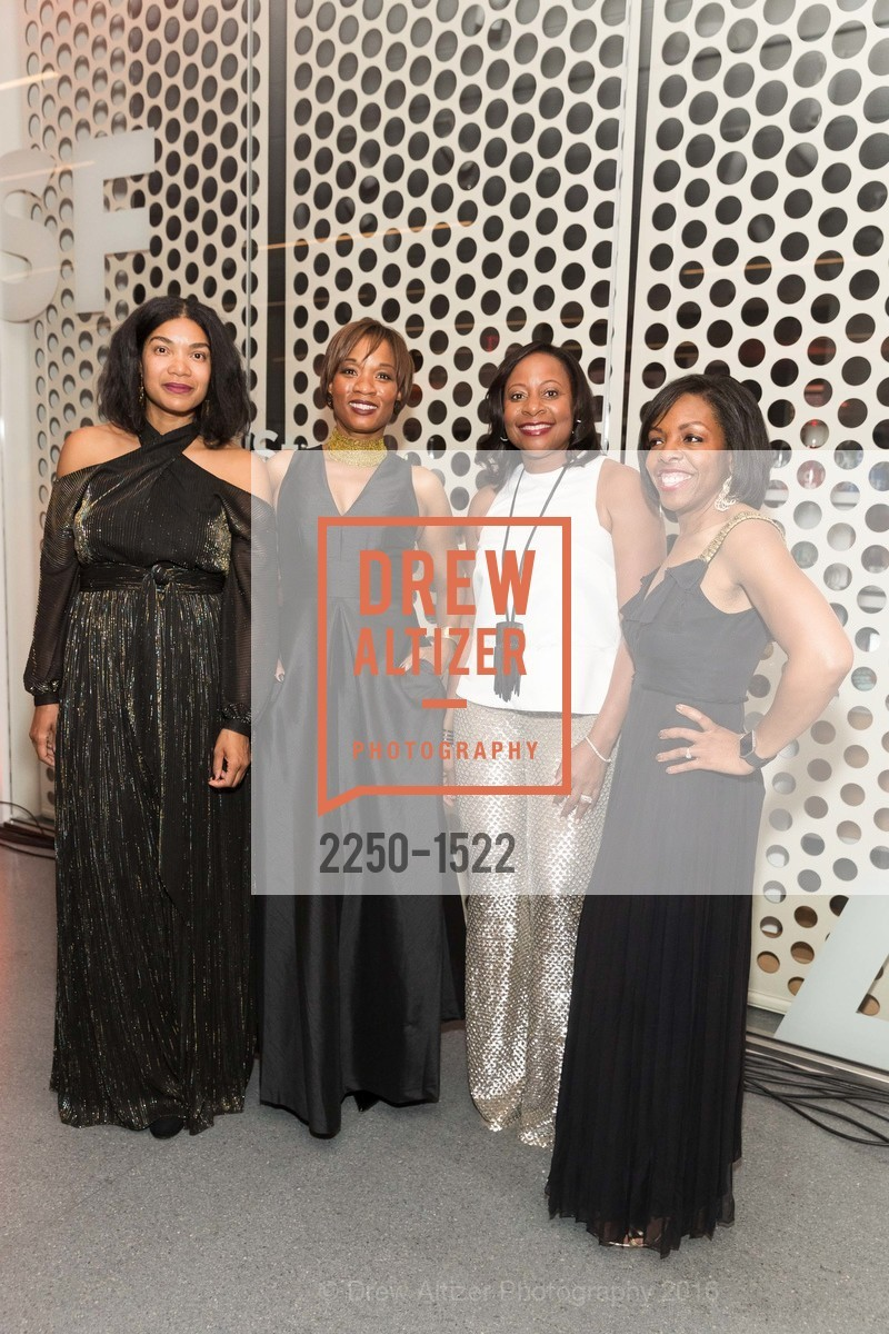 Sherri McMullen, Millicent Cox Edwards, Robin Washington, Lillian Samuel, Photo #2250-1522