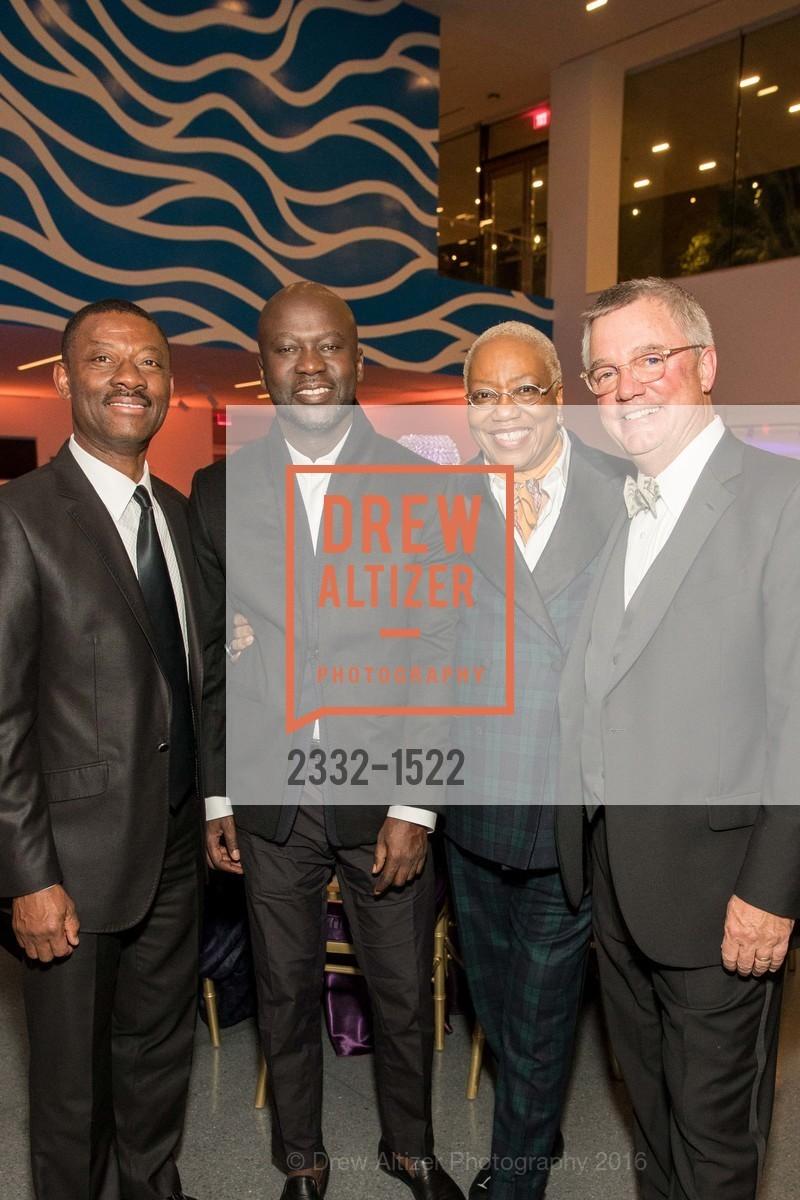 Kofi Bonner, David Adjaye, Linda Harrison, Wade Rose, Photo #2332-1522