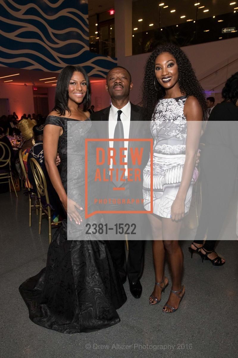 June Williams, Kofi Bonner, Noelle Bonner, Photo #2381-1522