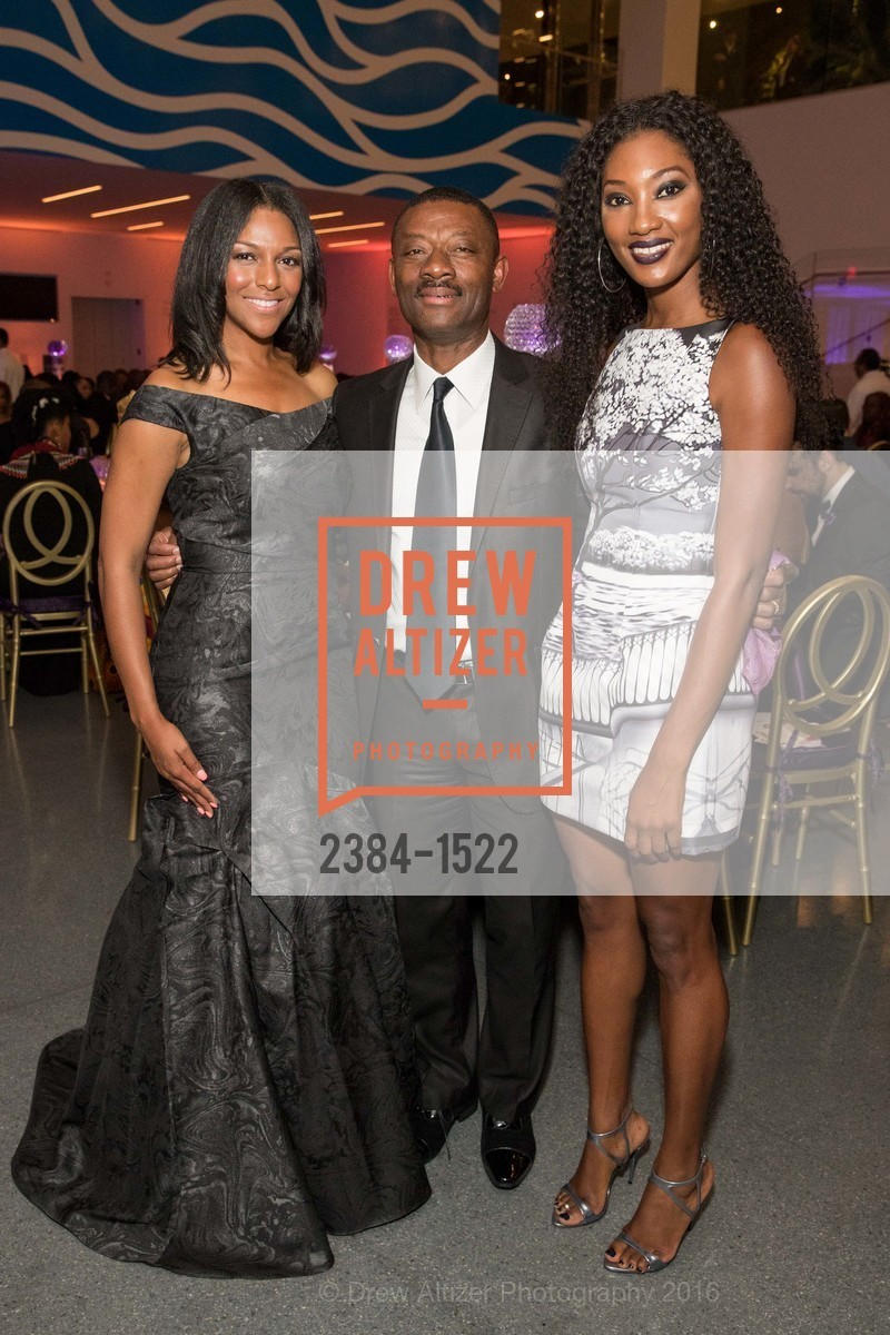 June Williams, Kofi Bonner, Noelle Bonner, Photo #2384-1522