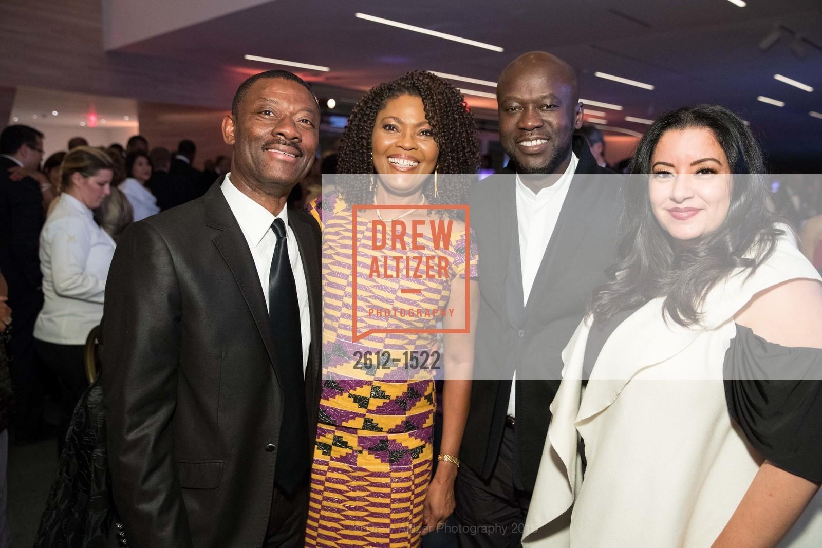 Kofi Bonner, Gladys Moore, David Adjaye, Hala Hajazi, Photo #2612-1522