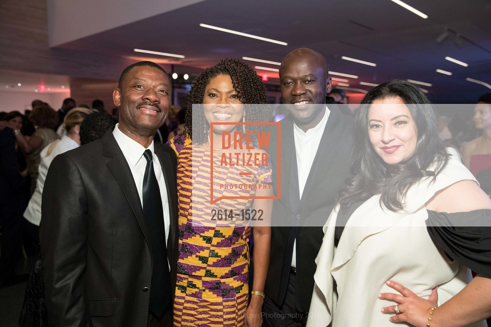 Kofi Bonner, Gladys Moore, David Adjaye, Hala Hajazi, Photo #2614-1522