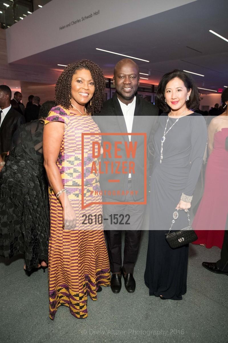 Gladys Moore, David Adjaye, Goretti Lui, Photo #2610-1522