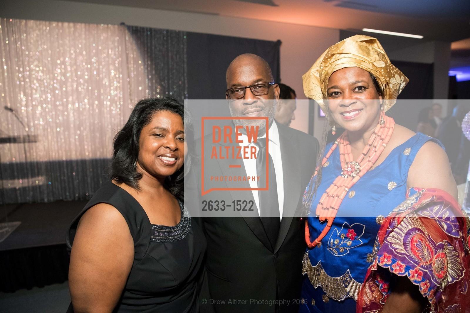 Yvette Radford, Bernard Tyson, Vicki Hughes, Photo #2633-1522