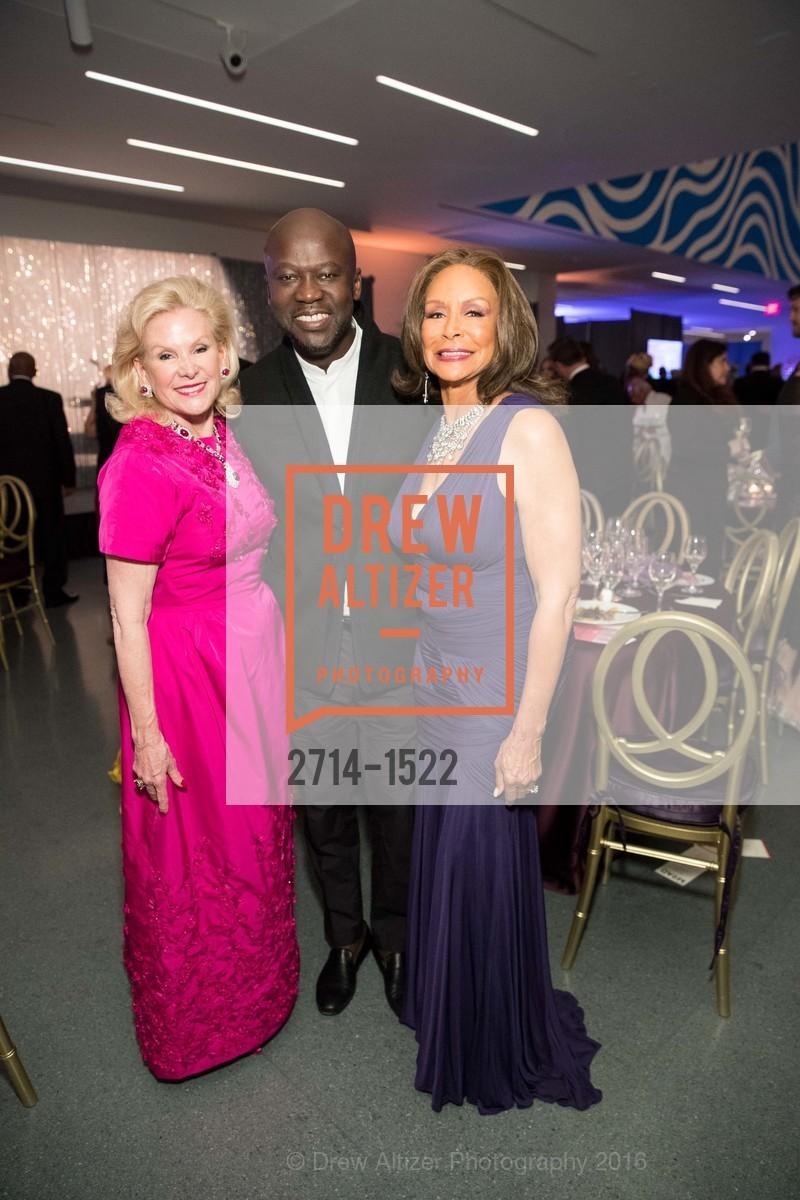 Dede Wilsey, David Adjaye, Freda Payne, Photo #2714-1522