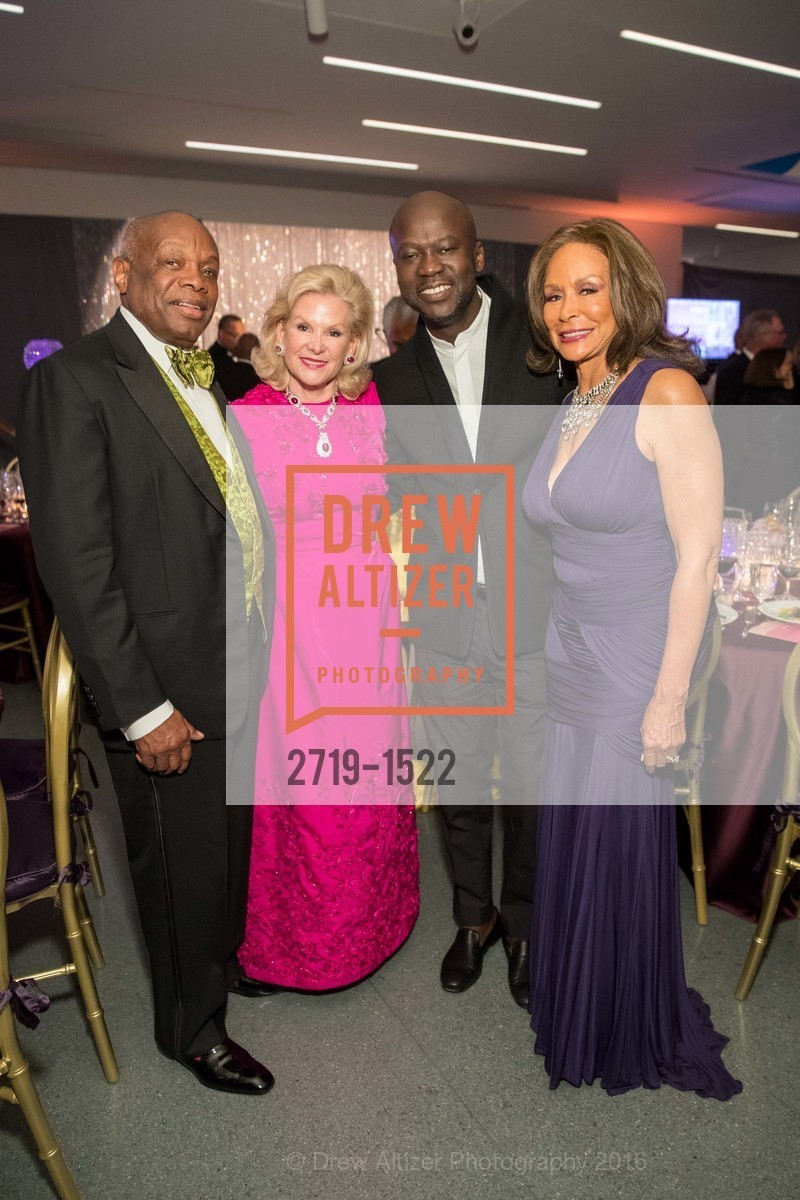 Willie Brown, Dede Wilsey, David Adjaye, Freda Payne, Photo #2719-1522