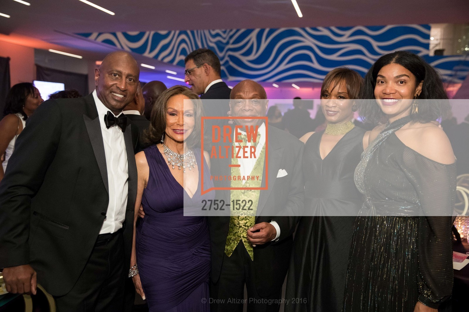 Mark Page, Freda Payne, Willie Brown, Millicent Cox Edwards, Sherri McMullen, Photo #2752-1522