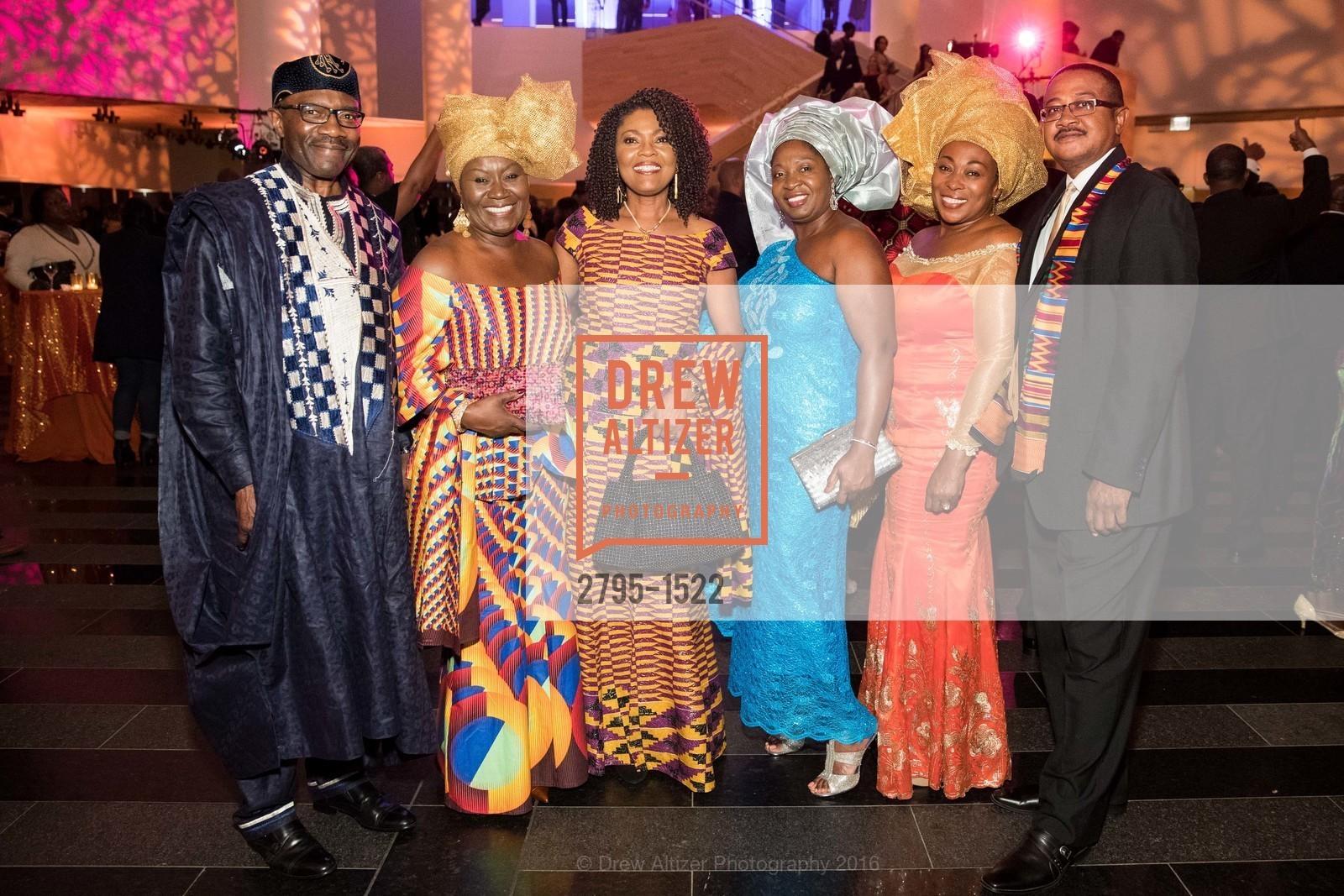 Kwaku Ohemeng, Mabel Ohemeng, Gladys Moore, Catherine Budu, Vivian Rahwanji, Ray Rahwanji, Photo #2795-1522