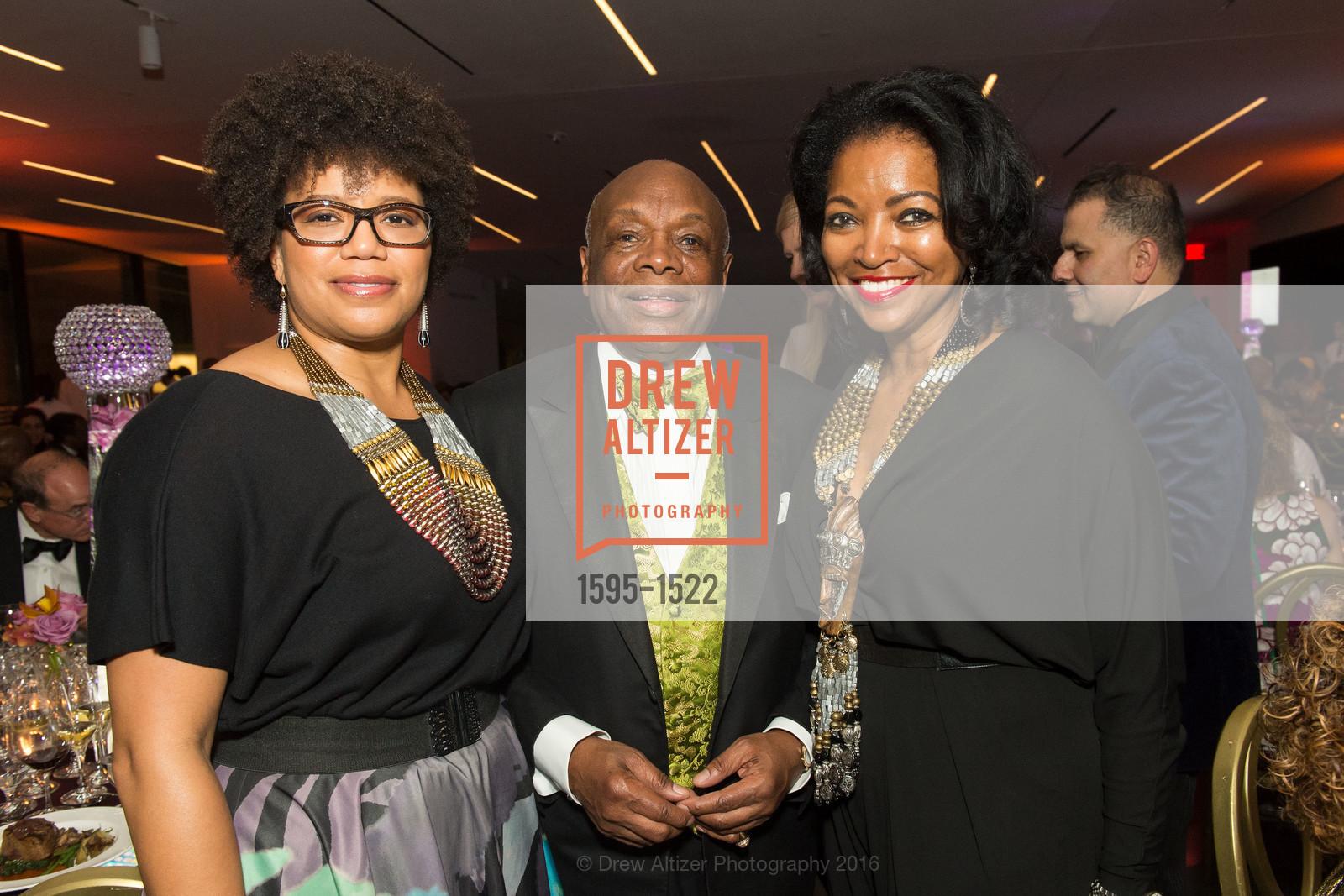 Yvette Clark, Willie Brown, Denise Bradley Tyson, Photo #1595-1522