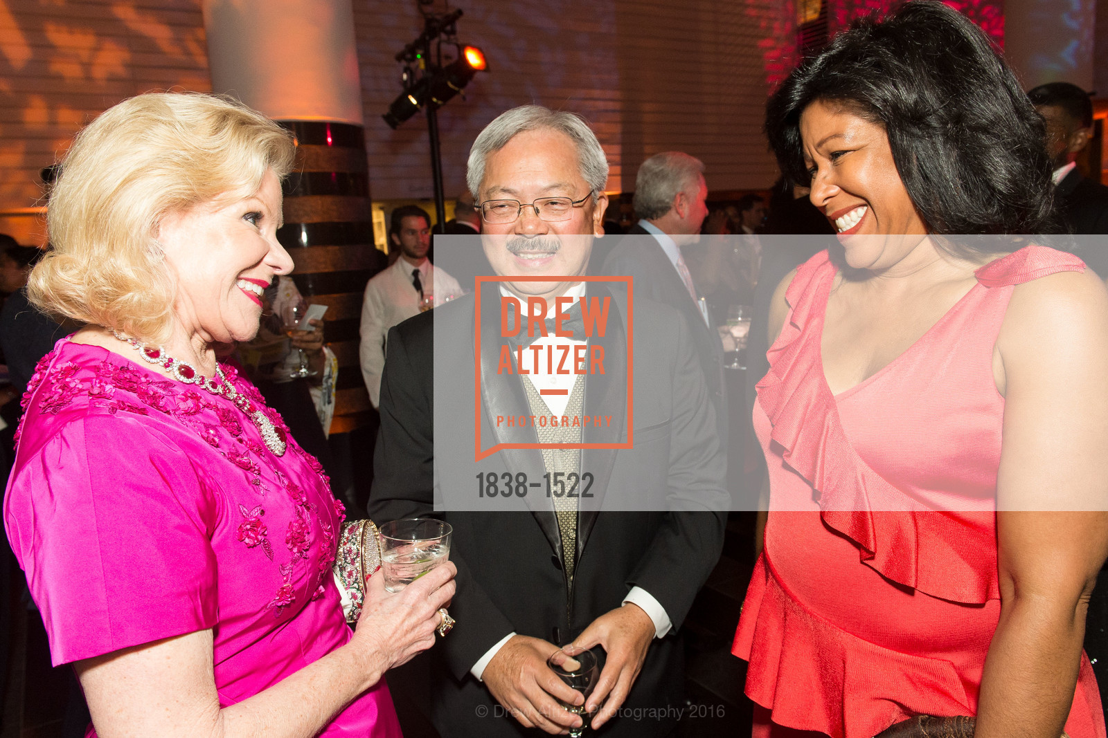 Dede Wilsey, Ed Lee, Kim Brandon, Photo #1838-1522