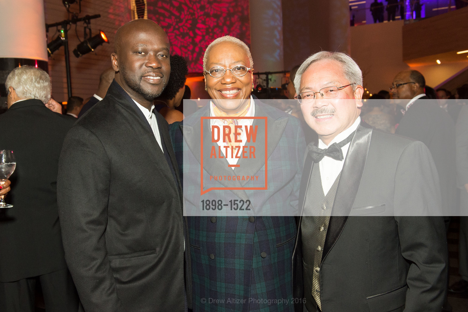David Adjaye, Linda Harrison, Ed Lee, Photo #1898-1522