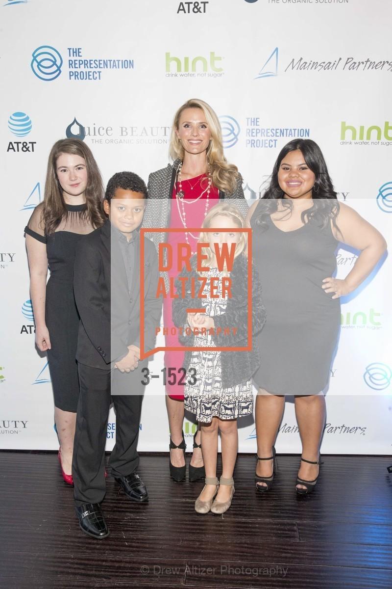 Ariella Neckritz, Jacksen Mason, Jennifer Siebel Newsom, Madison Newsom, Rosa Beltran, Photo #3-1523
