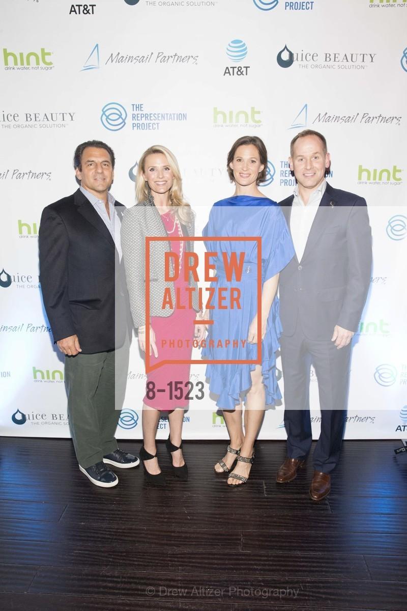 Andrew Zenoff, Jennifer Siebel Newsom, Allison Bloom, Gavin Turner, Photo #8-1523