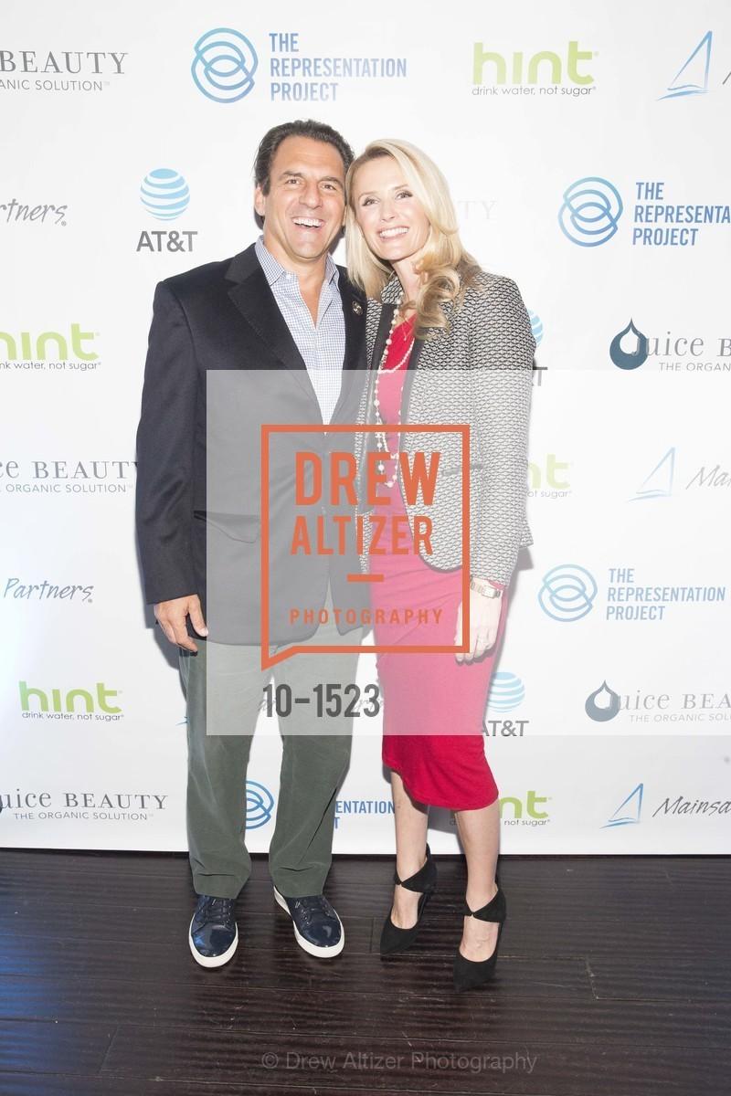 Andrew Zenoff, Jennifer Siebel Newsom, Photo #10-1523