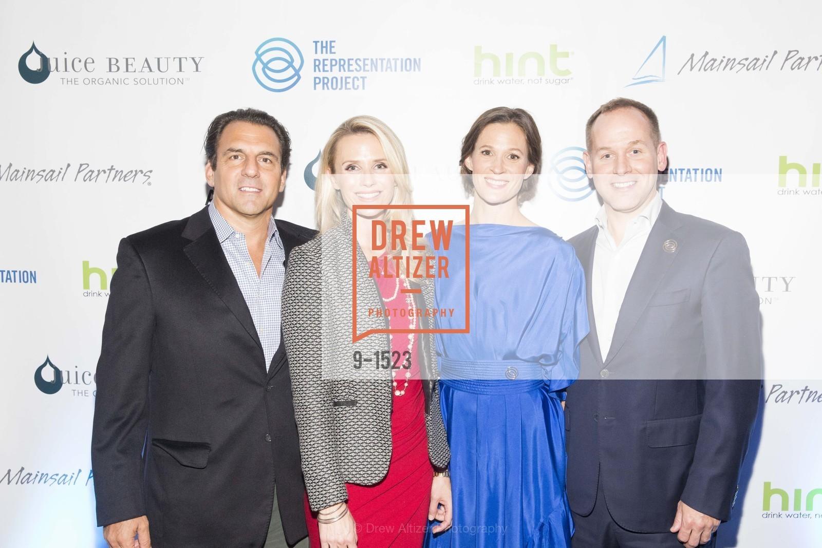 Andrew Zenoff, Jennifer Siebel Newsom, Allison Bloom, Gavin Turner, Photo #9-1523