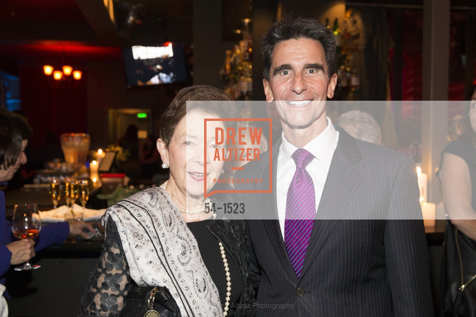 Roselyn Swig, Mark Leno, Photo #54-1523