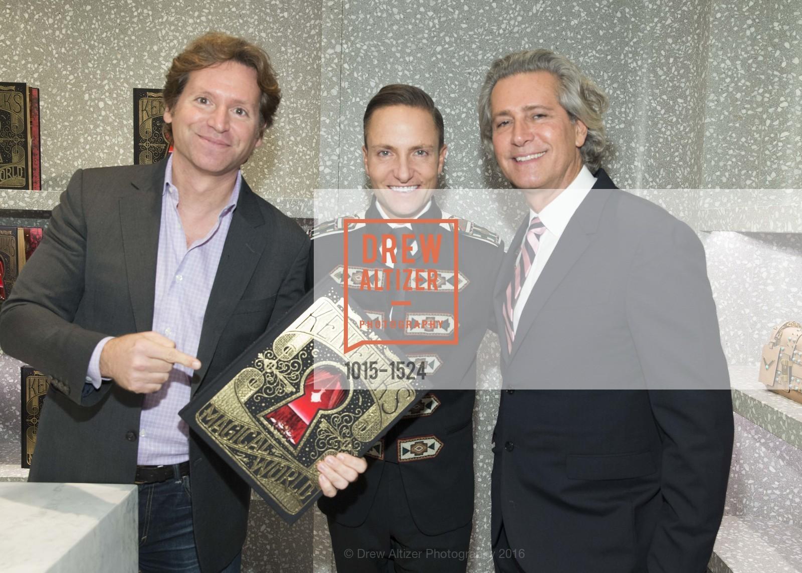 Trevor Traina, Ken Fulk, Carlos Souza, Photo #1015-1524