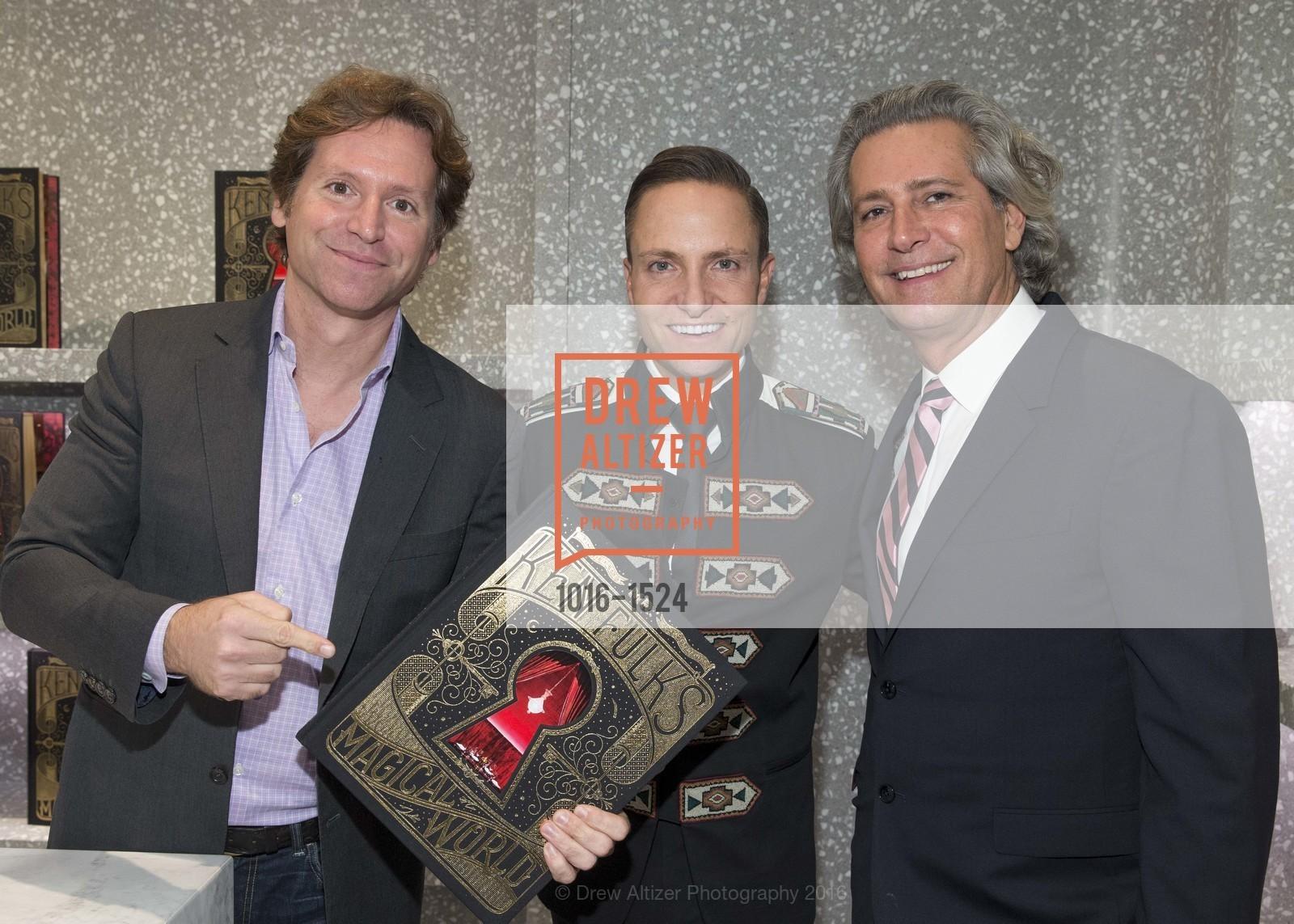 Trevor Traina, Ken Fulk, Carlos Souza, Photo #1016-1524