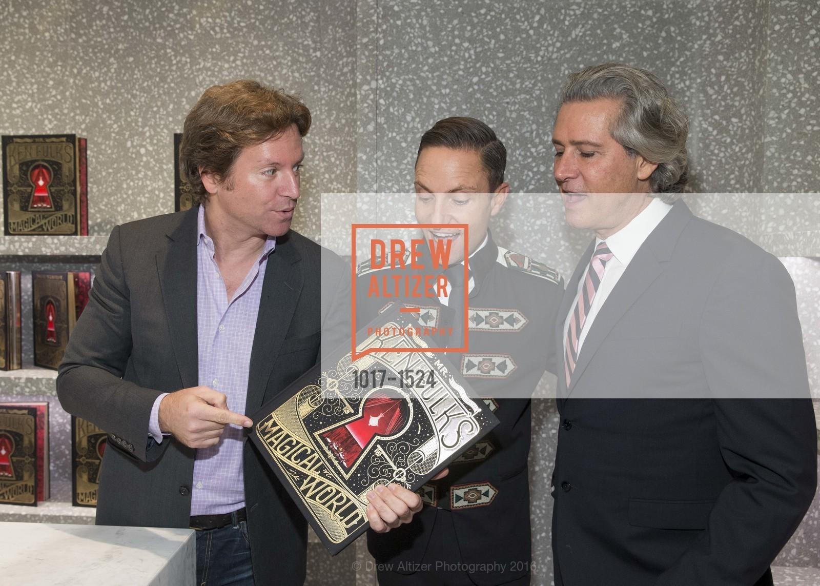 Trevor Traina, Ken Fulk, Carlos Souza, Photo #1017-1524