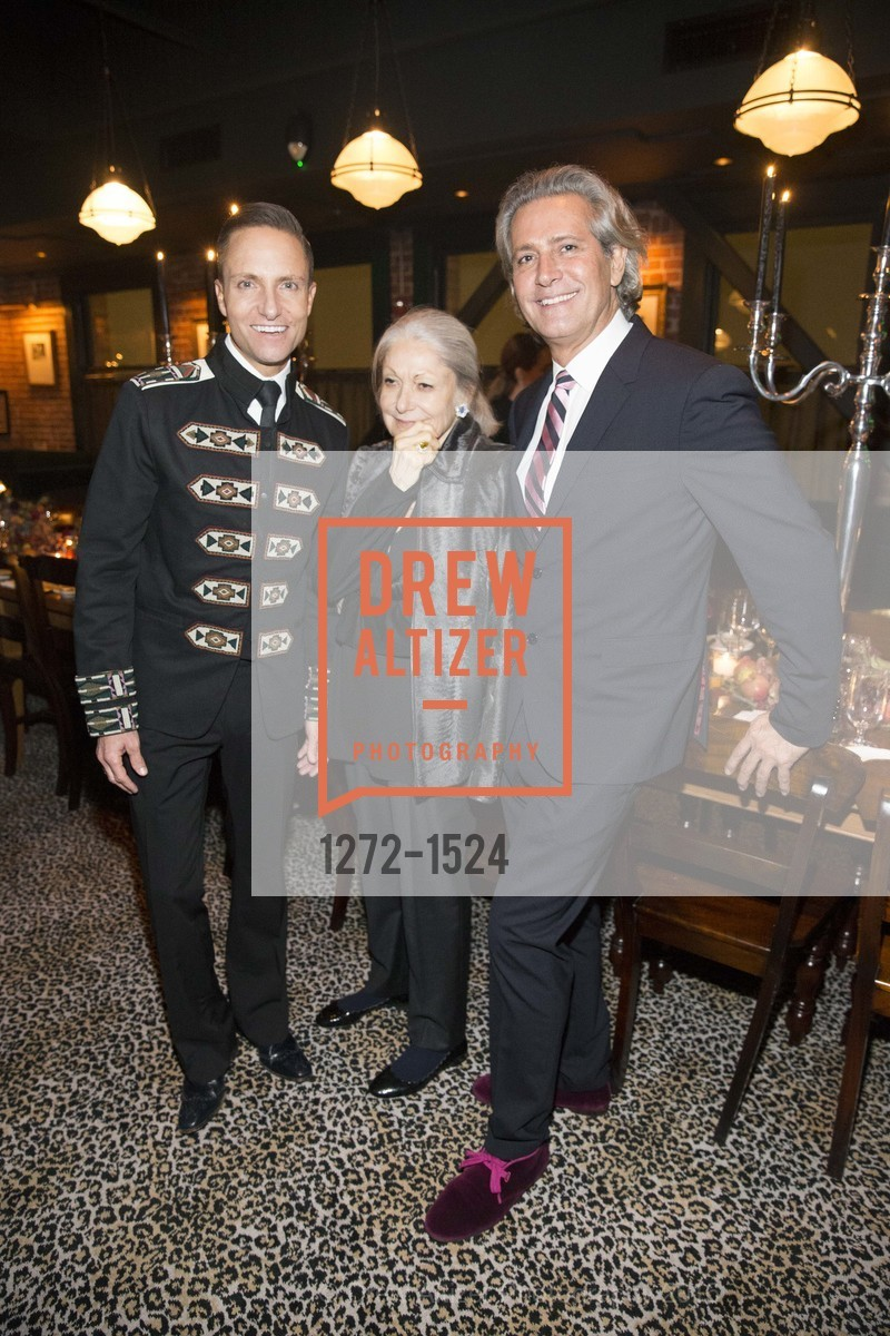 Ken Fulk, Denise Hale, Carlos Souza, Photo #1272-1524