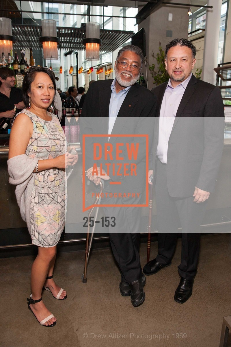 Raquel Redondiez, Michael Willis, Miguel Bustos, GLIDE's Power of One Lunch Countdown Party, RN74. 301 Mission St, June 4th, 2015,Drew Altizer, Drew Altizer Photography, full-service agency, private events, San Francisco photographer, photographer california