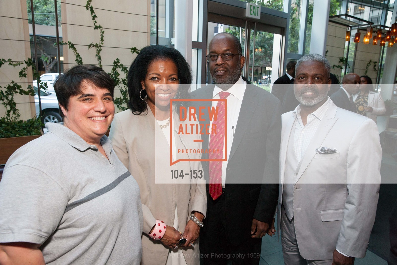 Rebecca Prozan, Denise Bradley Tyson, Bernard Tyson, Tommie Moon, GLIDE's Power of One Lunch Countdown Party, RN74. 301 Mission St, June 4th, 2015,Drew Altizer, Drew Altizer Photography, full-service agency, private events, San Francisco photographer, photographer california