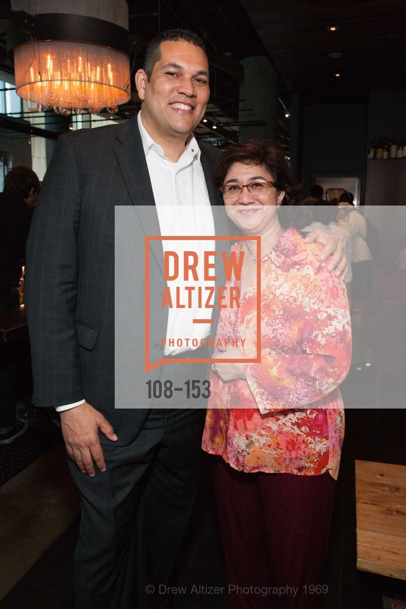 George Bridges, Rosalind Trinidad Oakey, GLIDE's Power of One Lunch Countdown Party, RN74. 301 Mission St, June 4th, 2015,Drew Altizer, Drew Altizer Photography, full-service agency, private events, San Francisco photographer, photographer california