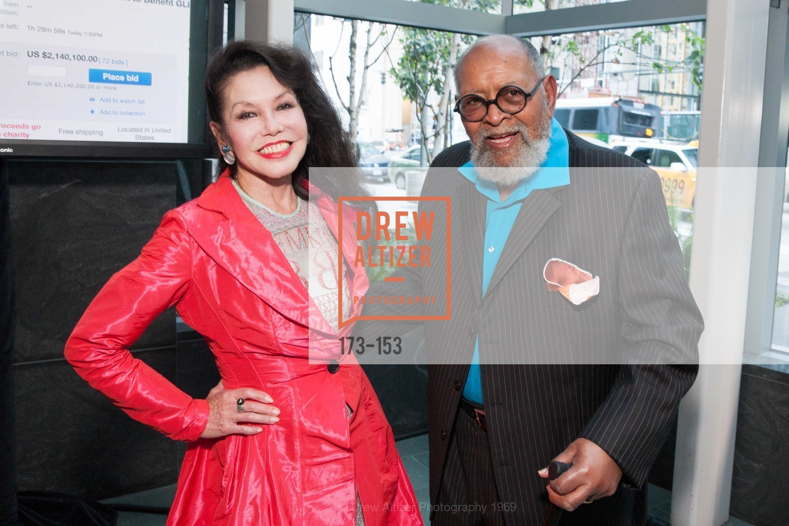Janice Mirikitani, Reverend Cecil Williams, GLIDE's Power of One Lunch Countdown Party, RN74. 301 Mission St, June 4th, 2015,Drew Altizer, Drew Altizer Photography, full-service agency, private events, San Francisco photographer, photographer california