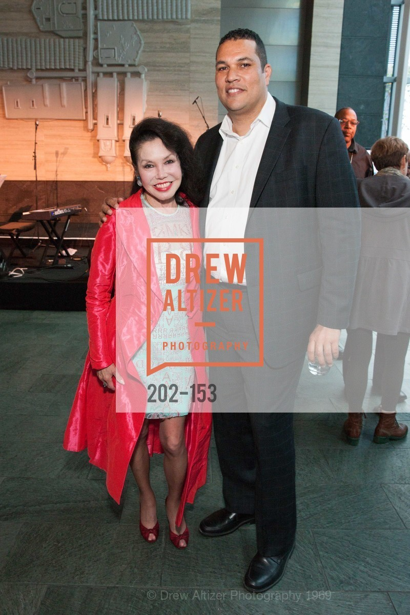 Janice Mirikitani, George Bridges, GLIDE's Power of One Lunch Countdown Party, RN74. 301 Mission St, June 4th, 2015,Drew Altizer, Drew Altizer Photography, full-service event agency, private events, San Francisco photographer, photographer California