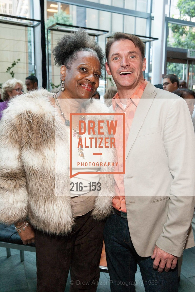 Yvonne Eshman, Curtis Bradford, GLIDE's Power of One Lunch Countdown Party, RN74. 301 Mission St, June 4th, 2015,Drew Altizer, Drew Altizer Photography, full-service agency, private events, San Francisco photographer, photographer california