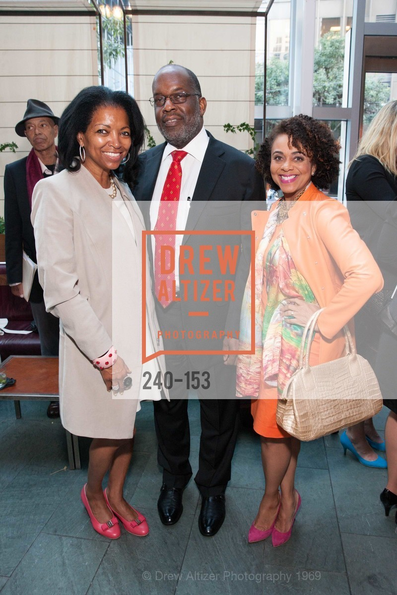 Denise Bradley Tyson, Bernard Tyson, Alicia Horowitz, GLIDE's Power of One Lunch Countdown Party, RN74. 301 Mission St, June 4th, 2015,Drew Altizer, Drew Altizer Photography, full-service agency, private events, San Francisco photographer, photographer california