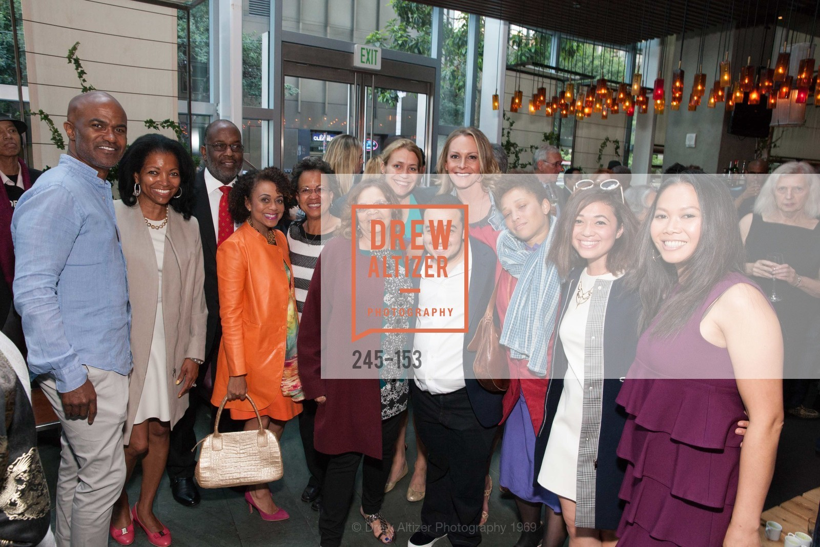 Denise Bradley Tyson, Bernard Tyson, Arrick Weathers, Alicia Horowitz, Jay Phoenix, Loretta Wiley, Elizabeth Coon, Joslyn DeFreece, Jules Horowitz, Maria Judy, Sophia Horowitz, Dori Caminong, GLIDE's Power of One Lunch Countdown Party, RN74. 301 Mission St, June 4th, 2015,Drew Altizer, Drew Altizer Photography, full-service event agency, private events, San Francisco photographer, photographer California