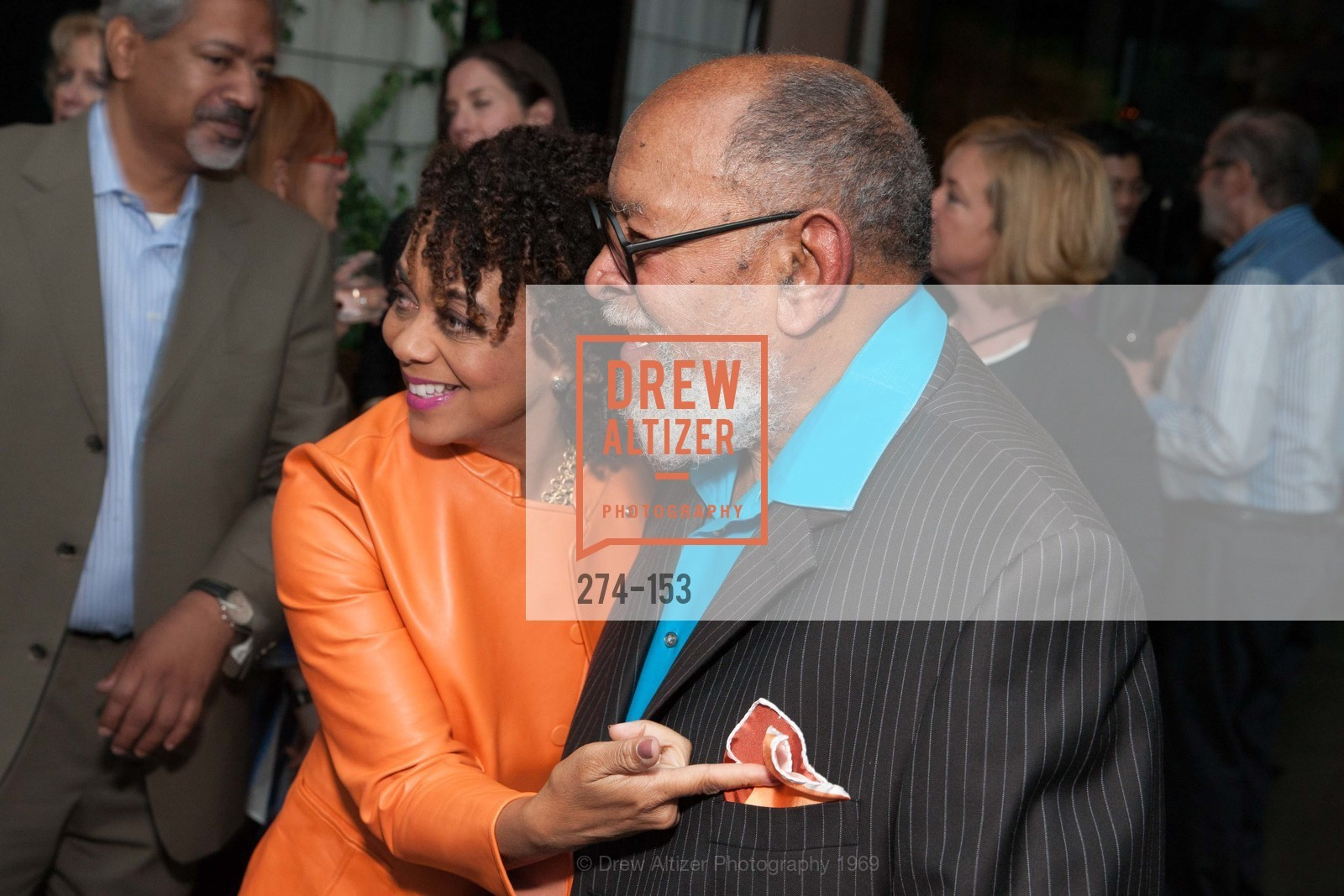 Alicia Horowitz, Reverend Cecil Williams, GLIDE's Power of One Lunch Countdown Party, RN74. 301 Mission St, June 4th, 2015,Drew Altizer, Drew Altizer Photography, full-service agency, private events, San Francisco photographer, photographer california