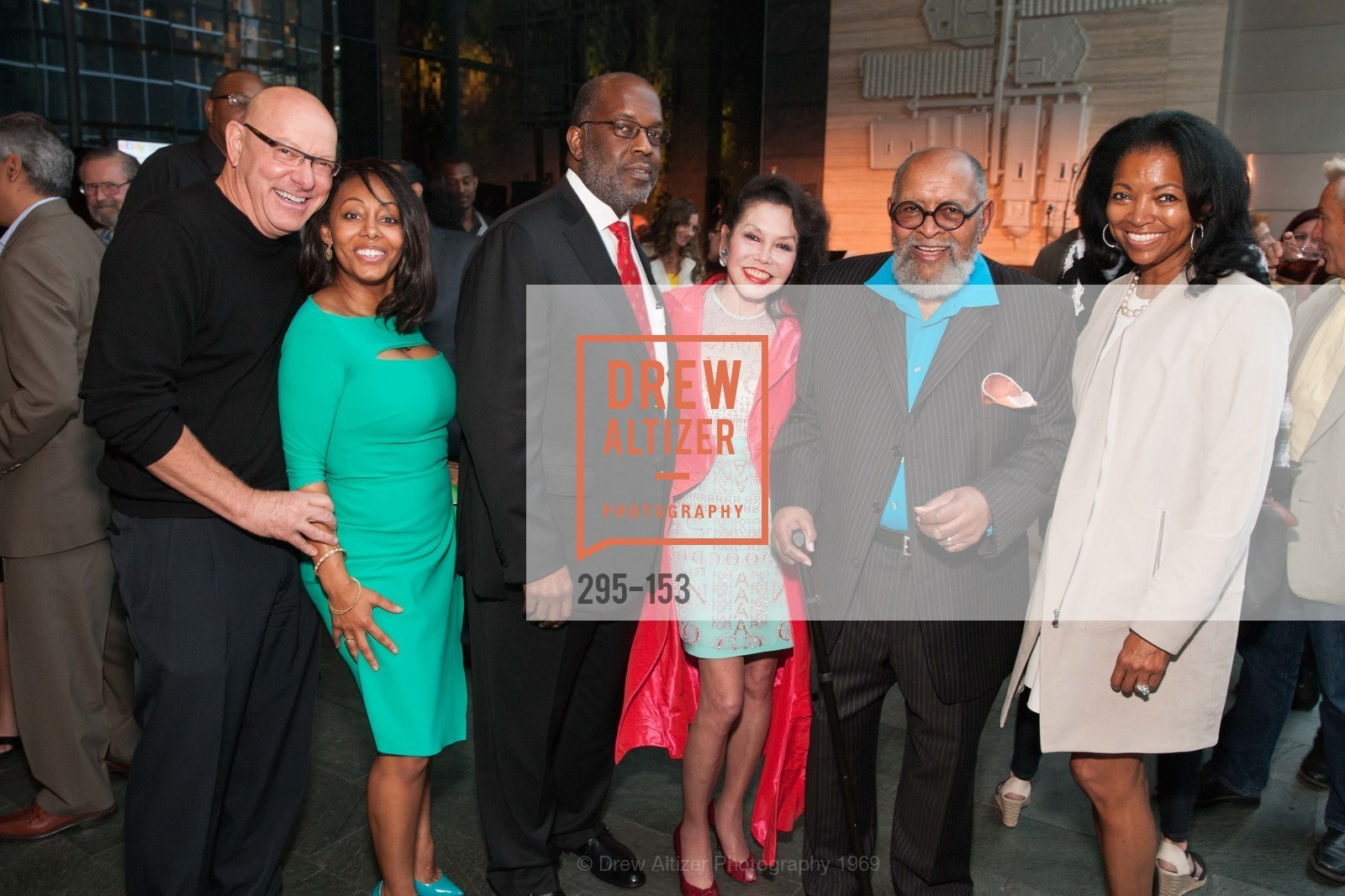 Jim Romano, Lisa Blackwell, Bernard Tyson, Janice Mirikitani, Reverend Cecil Williams, Denise Bradley Tyson, GLIDE's Power of One Lunch Countdown Party, RN74. 301 Mission St, June 4th, 2015,Drew Altizer, Drew Altizer Photography, full-service agency, private events, San Francisco photographer, photographer california