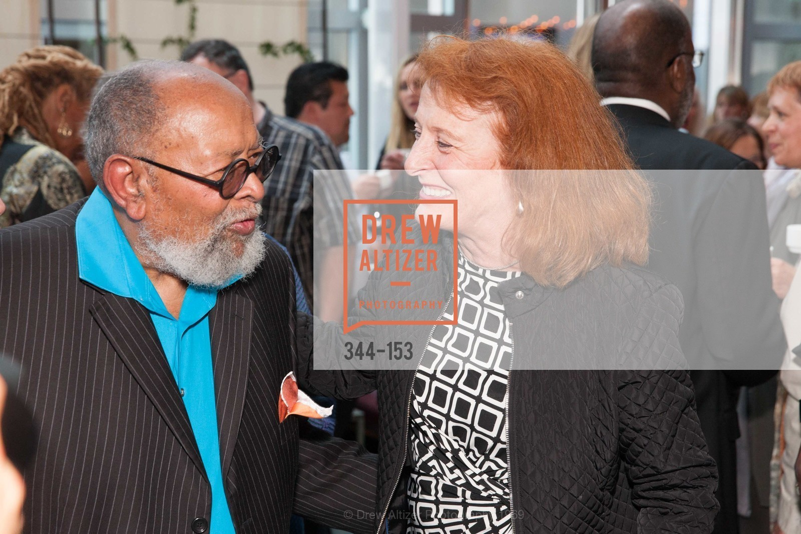 Reverend Cecil Williams, Anne Wilson, GLIDE's Power of One Lunch Countdown Party, RN74. 301 Mission St, June 4th, 2015,Drew Altizer, Drew Altizer Photography, full-service agency, private events, San Francisco photographer, photographer california