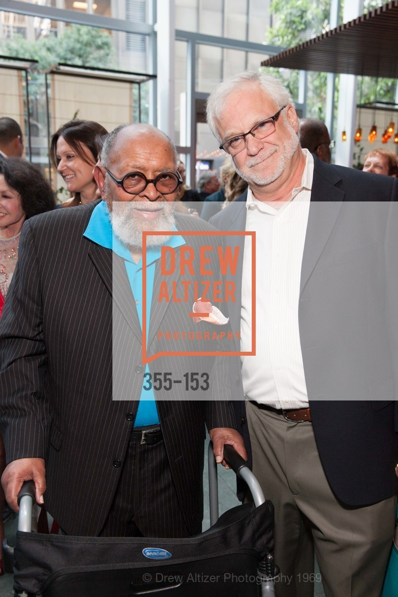 Reverend Cecil Williams, Richard Cohn, GLIDE's Power of One Lunch Countdown Party, RN74. 301 Mission St, June 4th, 2015,Drew Altizer, Drew Altizer Photography, full-service agency, private events, San Francisco photographer, photographer california