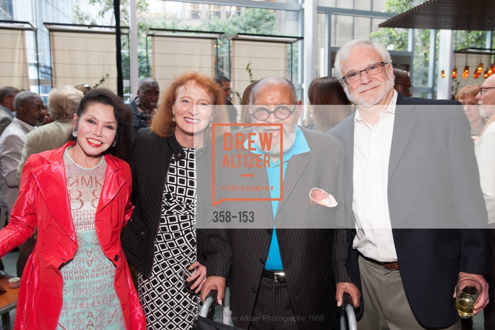 Janice Mirikitani, Anne Wilson, Reverend Cecil Williams, Richard Cohn, GLIDE's Power of One Lunch Countdown Party, RN74. 301 Mission St, June 4th, 2015,Drew Altizer, Drew Altizer Photography, full-service agency, private events, San Francisco photographer, photographer california