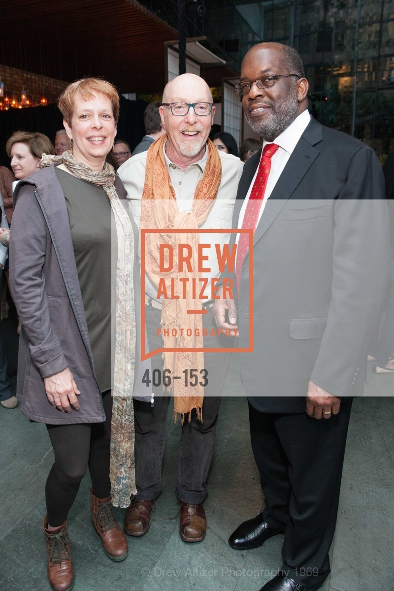 Sandy LeBelle, Daniel Oppenheim, Bernard Tyson, GLIDE's Power of One Lunch Countdown Party, RN74. 301 Mission St, June 4th, 2015,Drew Altizer, Drew Altizer Photography, full-service event agency, private events, San Francisco photographer, photographer California