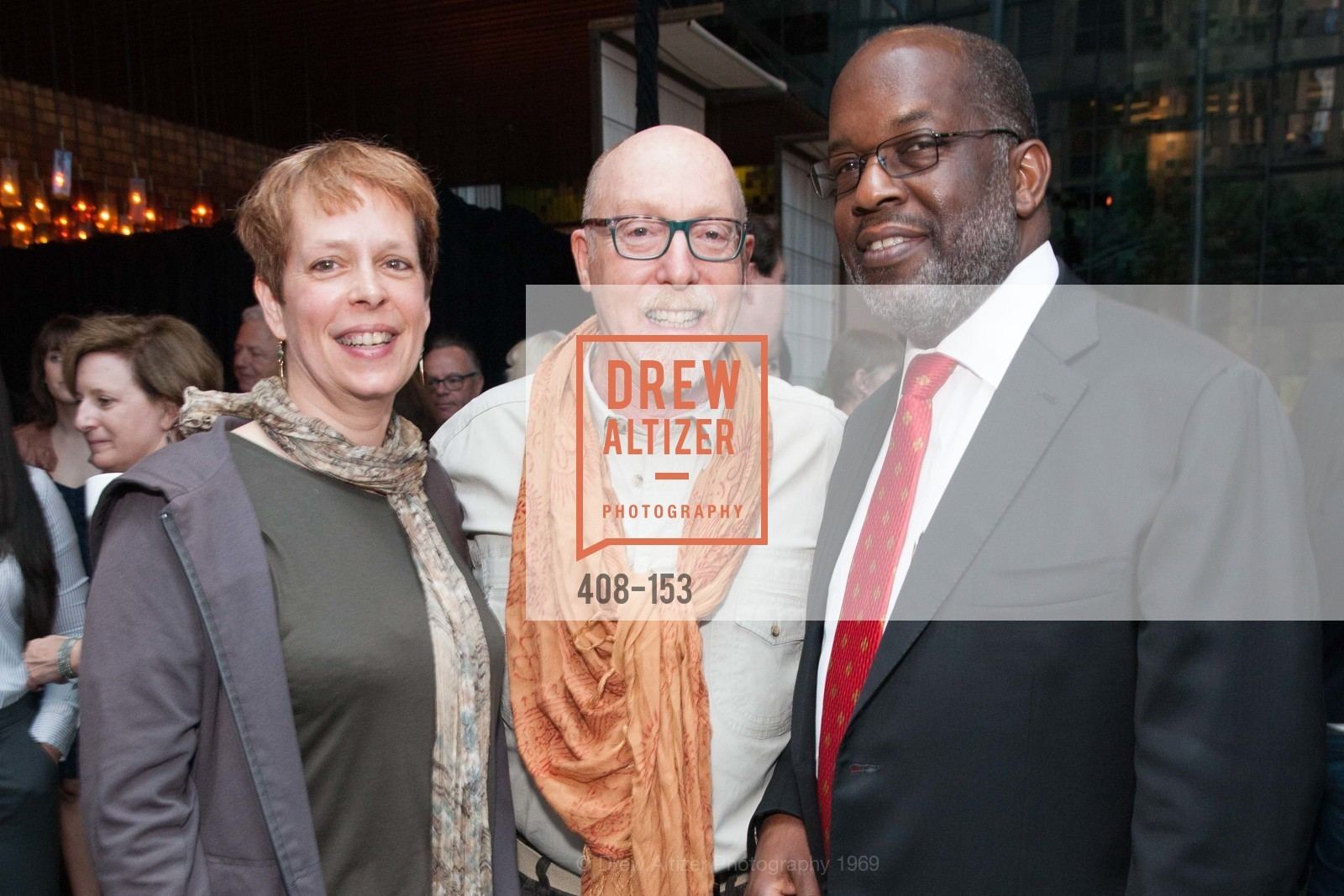Sandy LeBelle, Daniel Oppenheim, Bernard Tyson, GLIDE's Power of One Lunch Countdown Party, RN74. 301 Mission St, June 4th, 2015,Drew Altizer, Drew Altizer Photography, full-service agency, private events, San Francisco photographer, photographer california