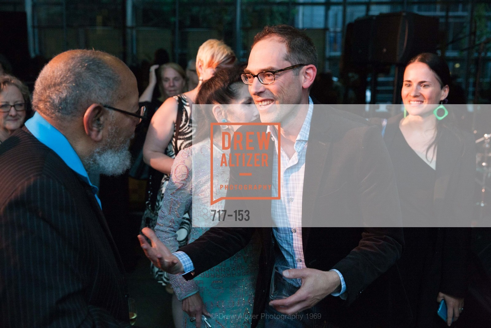 Reverend Cecil Williams, David Schwarzbach, GLIDE's Power of One Lunch Countdown Party, RN74. 301 Mission St, June 4th, 2015,Drew Altizer, Drew Altizer Photography, full-service agency, private events, San Francisco photographer, photographer california