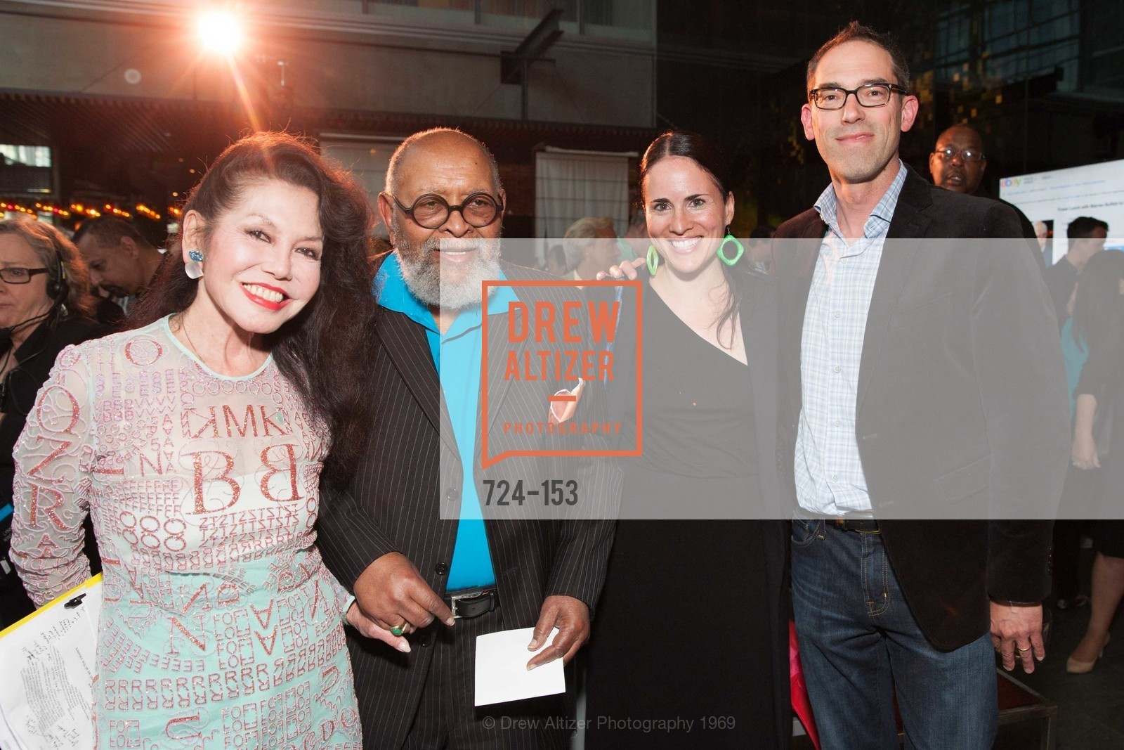 Janice Mirikitani, Reverend Cecil Williams, Tara Schwarzbach, David Schwarzbach, GLIDE's Power of One Lunch Countdown Party, RN74. 301 Mission St, June 4th, 2015,Drew Altizer, Drew Altizer Photography, full-service agency, private events, San Francisco photographer, photographer california