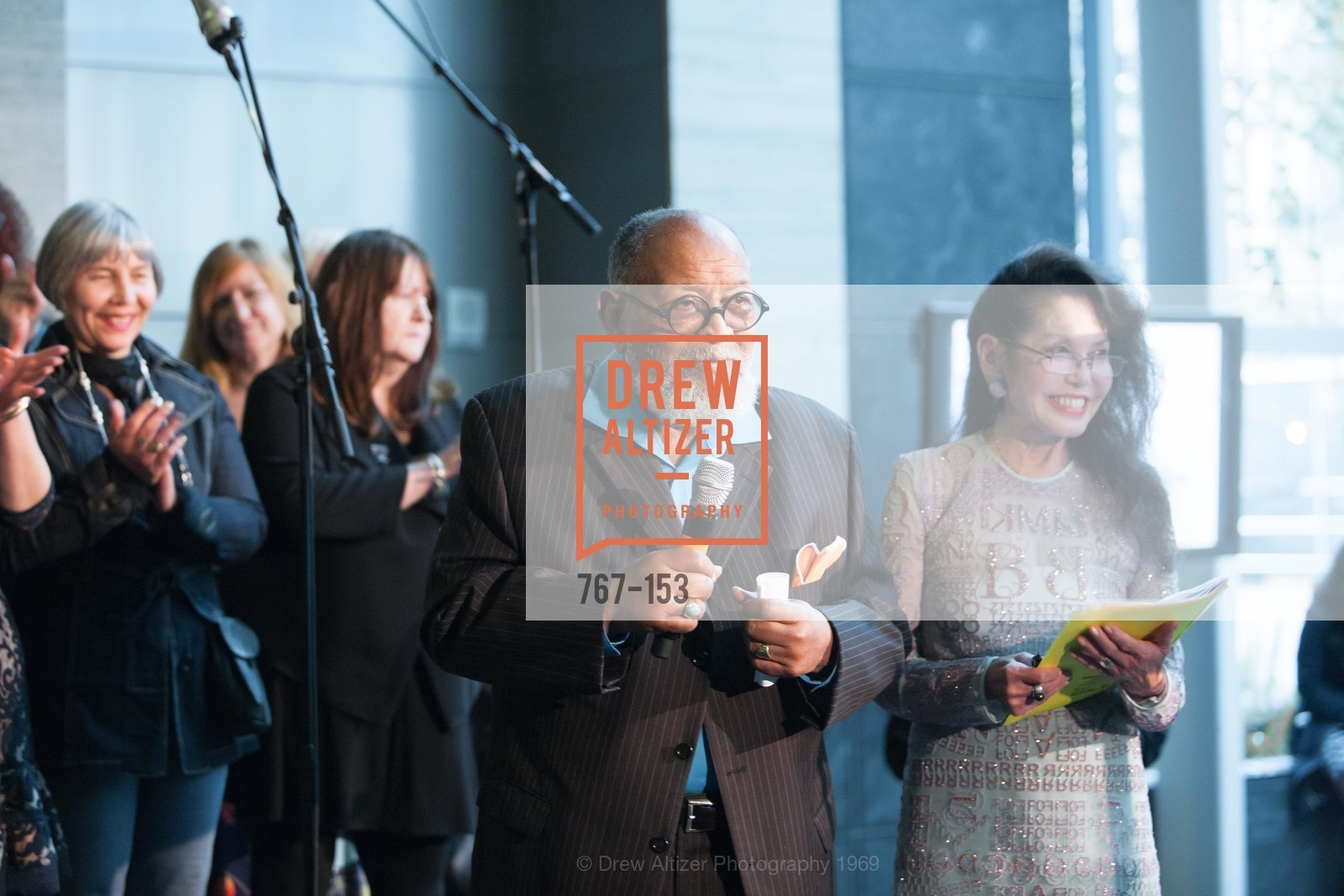 Reverend Cecil Williams, Janice Mirikitani, GLIDE's Power of One Lunch Countdown Party, RN74. 301 Mission St, June 4th, 2015,Drew Altizer, Drew Altizer Photography, full-service event agency, private events, San Francisco photographer, photographer California