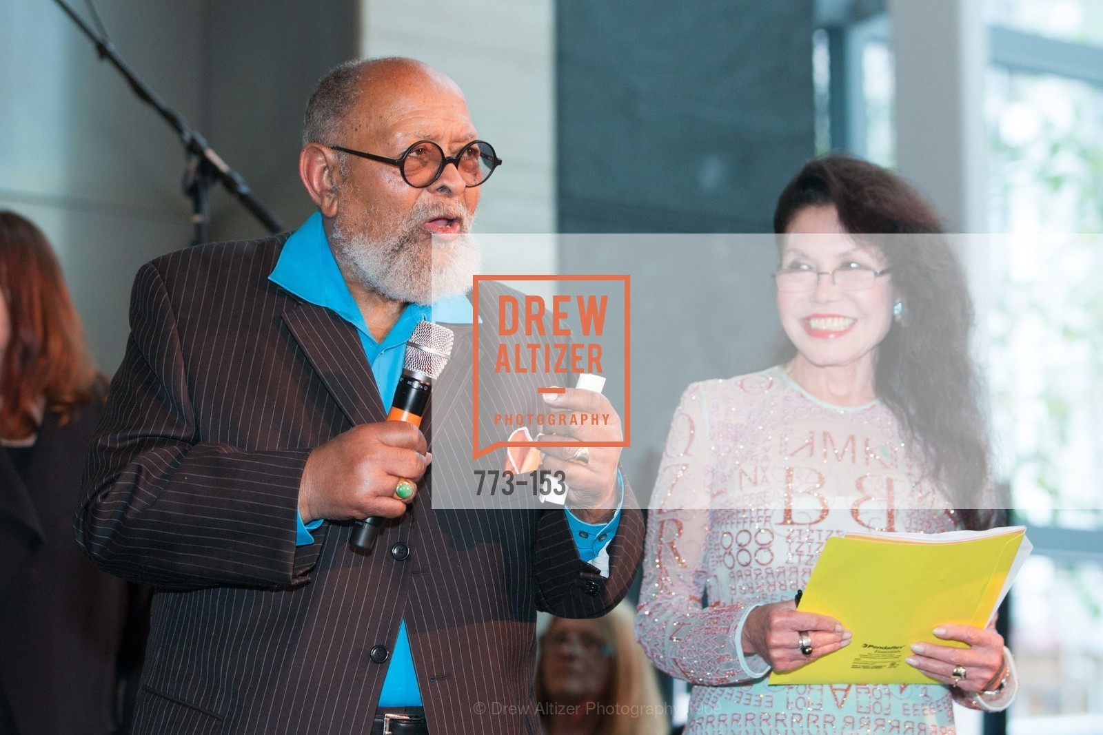 Reverend Cecil Williams, Janice Mirikitani, GLIDE's Power of One Lunch Countdown Party, RN74. 301 Mission St, June 4th, 2015,Drew Altizer, Drew Altizer Photography, full-service agency, private events, San Francisco photographer, photographer california