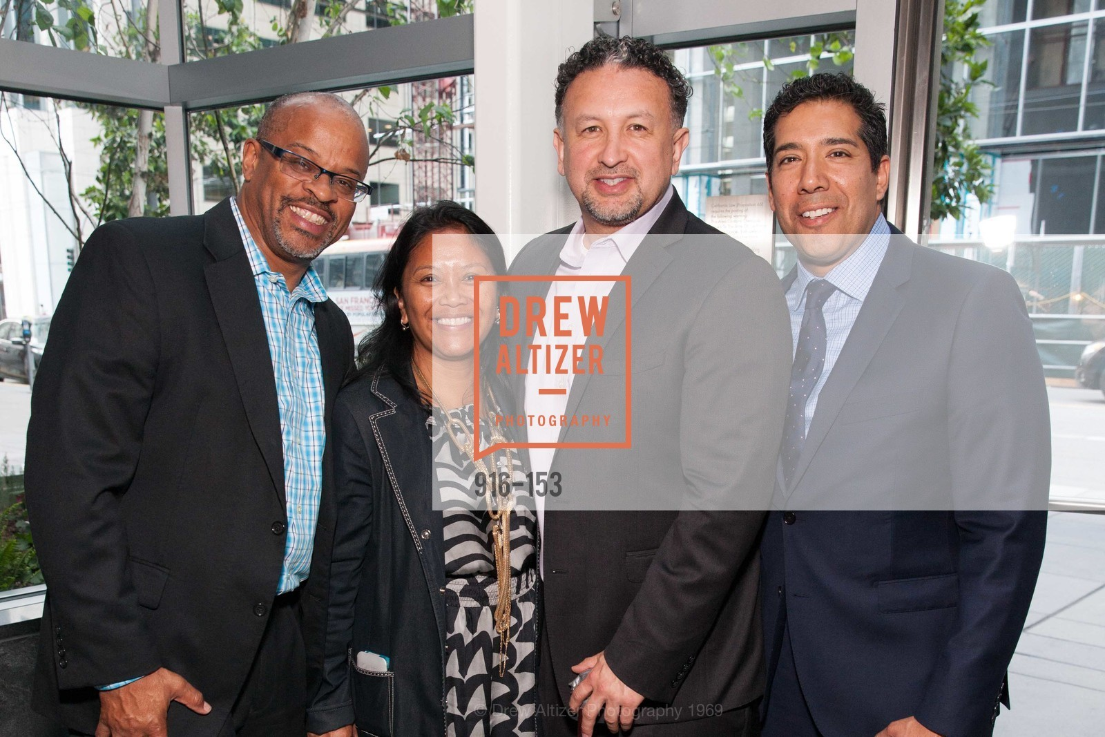 Eric McDonnell, Hydra Mendoza, Miguel Bustos, Alex Rivera, GLIDE's Power of One Lunch Countdown Party, RN74. 301 Mission St, June 4th, 2015,Drew Altizer, Drew Altizer Photography, full-service agency, private events, San Francisco photographer, photographer california