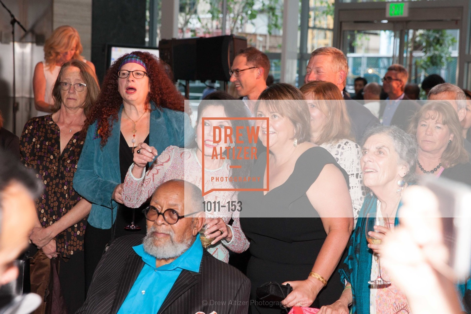 Reverend Cecil Williams, GLIDE's Power of One Lunch Countdown Party, RN74. 301 Mission St, June 4th, 2015,Drew Altizer, Drew Altizer Photography, full-service agency, private events, San Francisco photographer, photographer california