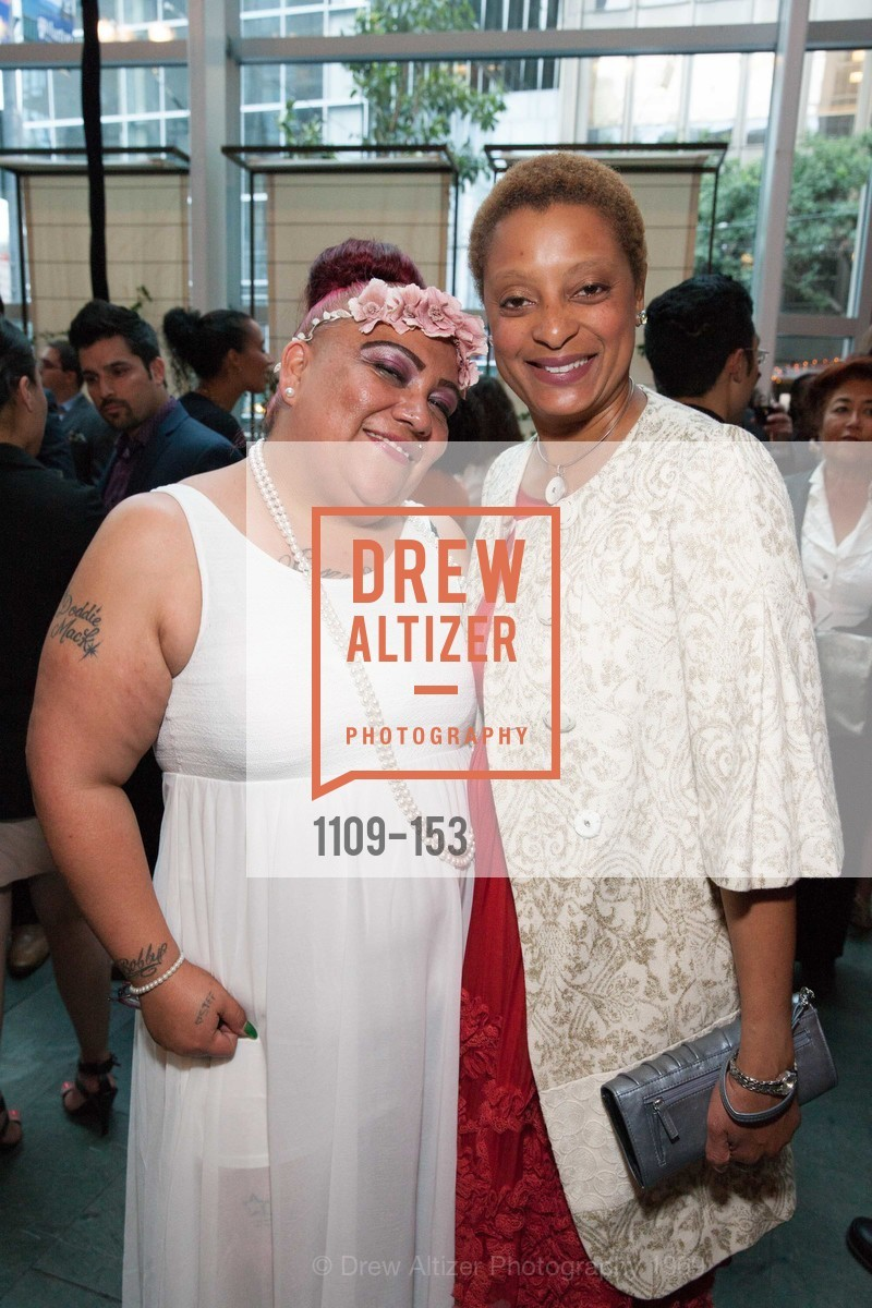 Stephanie Gonzalez, Paula Farmer, GLIDE's Power of One Lunch Countdown Party, RN74. 301 Mission St, June 4th, 2015,Drew Altizer, Drew Altizer Photography, full-service agency, private events, San Francisco photographer, photographer california