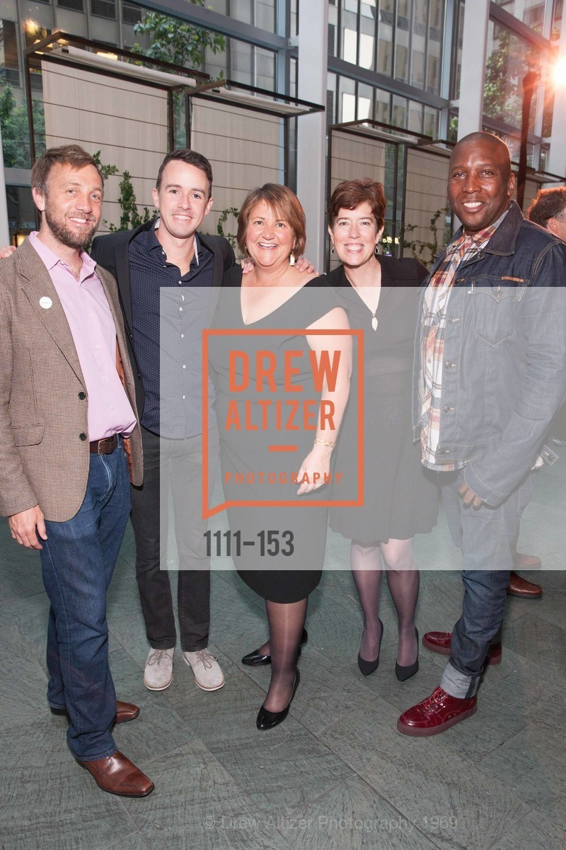 Carl Robollard, Taylor Skilland, Karen Oliveto, Kristen Growney, Marvin White, GLIDE's Power of One Lunch Countdown Party, RN74. 301 Mission St, June 4th, 2015,Drew Altizer, Drew Altizer Photography, full-service agency, private events, San Francisco photographer, photographer california