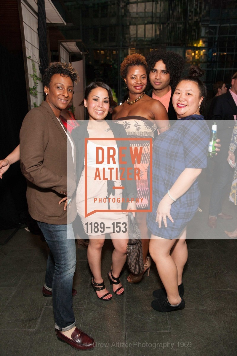 Kat Timmons, Bernadett Avellana, Sonja Scott, Chrisian King, Eden Chan, GLIDE's Power of One Lunch Countdown Party, RN74. 301 Mission St, June 4th, 2015,Drew Altizer, Drew Altizer Photography, full-service event agency, private events, San Francisco photographer, photographer California