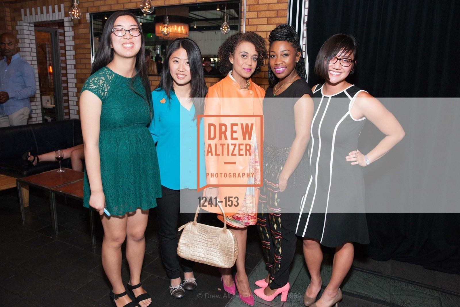 Alissa Lee, Alicia Horowitz, Tiana Merritt, Jackie Tran, GLIDE's Power of One Lunch Countdown Party, RN74. 301 Mission St, June 4th, 2015,Drew Altizer, Drew Altizer Photography, full-service agency, private events, San Francisco photographer, photographer california